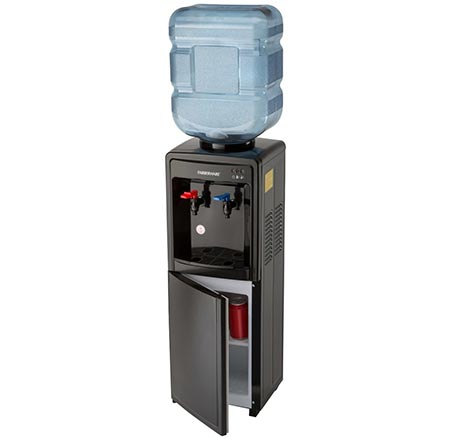7. Farberware FW29919 Freestanding Hot and Cold Water Cooler Dispenser, Black