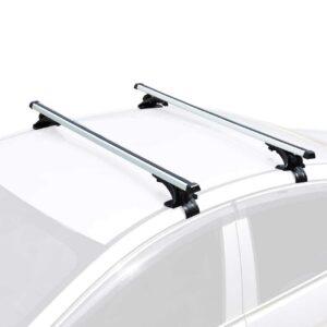 "AUXMART Universal Roof Rack Adjustable 48"" Cross Bars Aluminum Cargo Carrier Rooftop Crossbars"