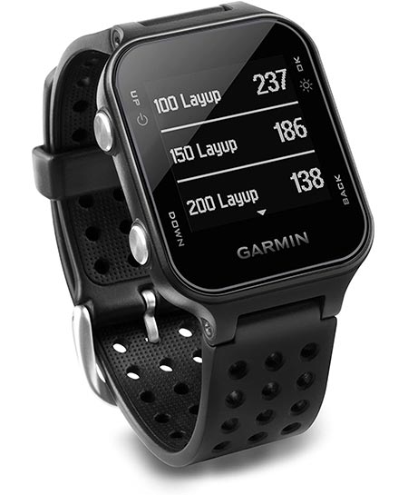 1. Garmin Approach S20, GPS Golf Watch with Step Tracking