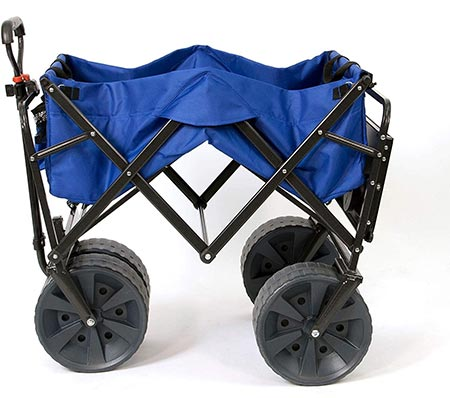 4. Mac Sports Collapsible Folding All Terrain Utility Wagon