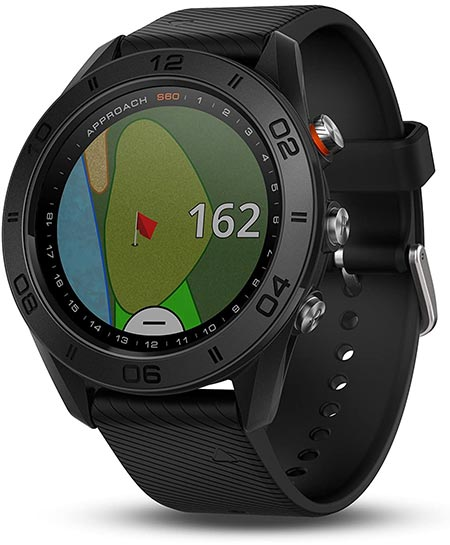 4. Garmin Approach S60 Silicone Band Watch