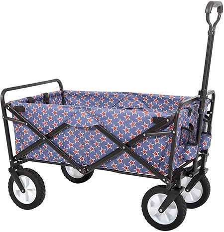 1. MacSports Collapsible Folding Outdoor Utility Wagon