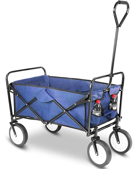 7. Femor Collapsible Folding Outdoor Utility Wagon
