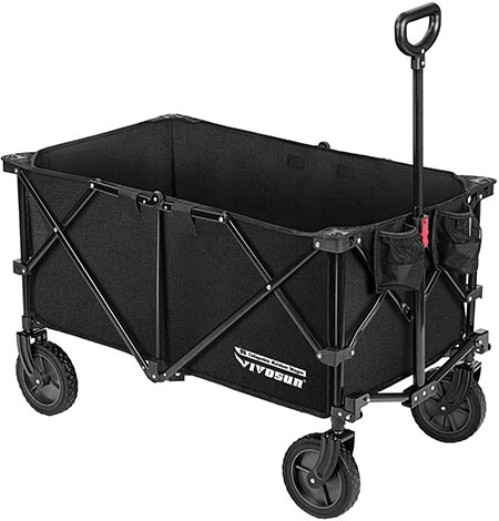 5. VIVOSUN Heavy Duty Collapsible Folding Wagon