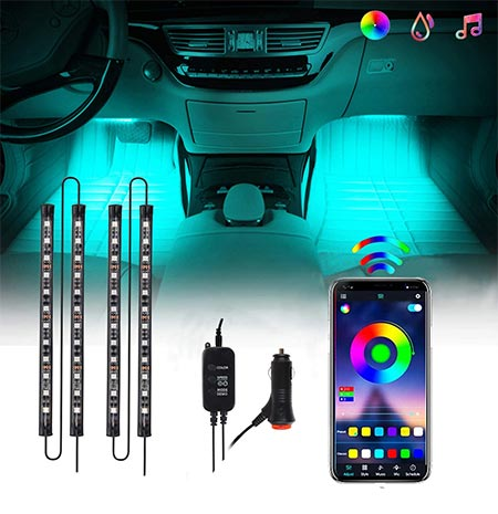 6-CHUSSTANG Bluetooth App Control Lighting Kits