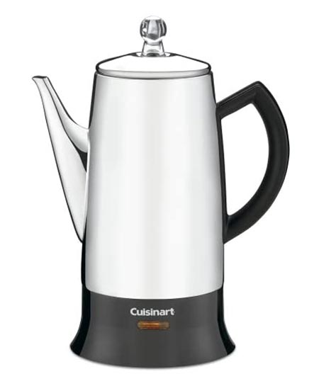 6. Cuisinart PRC Stainless-Steel Percolator