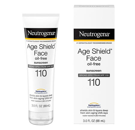 4-Neutrogena Broad-Spectrum SPF 110 Age Shield Face Lotion