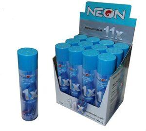 Neon Butane Fuel Lighter Refill Gas