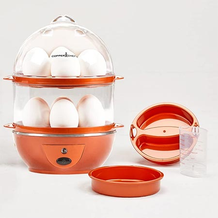 5. Copper Chef Electric Cooker Set