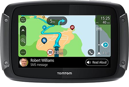 3TomTom rider 550 motorcycle GPS Navigation Device.