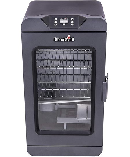 1-Char-Broil Black Digital Electric Smoker Deluxe 19202101