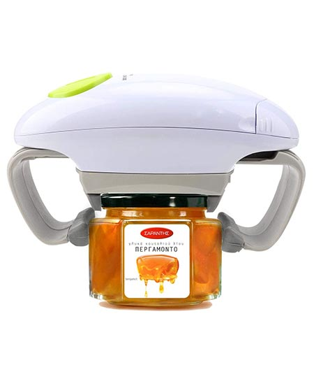 6. Electric Jar Opener, Kitchen Gadget Strong Tough Automatic Jar Opener for New Sealed Jars, The Hands-free Jar Opener with Less Effort to Open