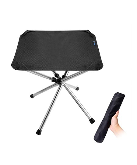 3. Walsking Folding Camping Stool, Portable Camping Fishing Chair, Outdoor Slacker Chair for Backpacking, Hiking, BBQ, Picnic, Travel, Beach Chair with Carry Bag